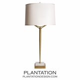 Libra Brass Table Lamp