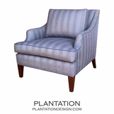Lindsey Chair | Contrast Piping