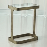 Luke Side Table | Antique Gold