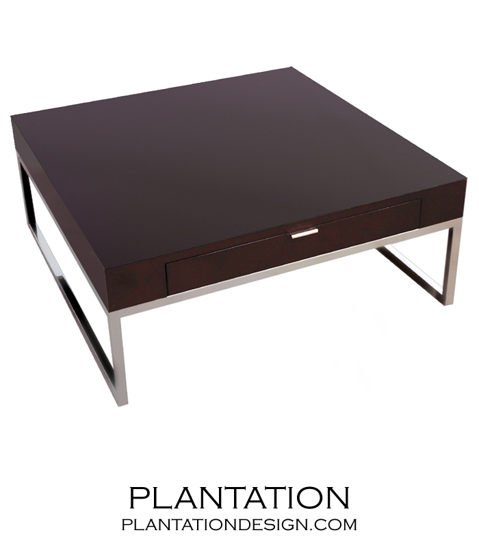 Lyon coffee table plantation Lyon coffee table