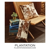 Maksim Cowhide Pillows Set | Brindle