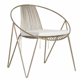 Malmo Lounge Chair | Brass