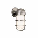 Manchester Bath Sconce | Antique Nickel