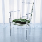 Marilyn Lucite Armchair | Green