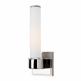 Marin Single Sconce | Polished Nickel