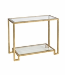 Maxwell Console Table | Gold