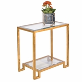 Maxwell Side Table | Gold