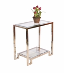 Maxwell Side Table | Nickel