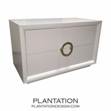 Mercer 2-Drawer Dresser, Painted