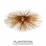 Meteor Grand Flush Mount | Gold