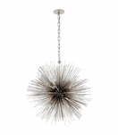 Meteor Medium Chandelier | Silver