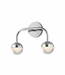 Mizner 2-Light Sconce | Polished Chrome