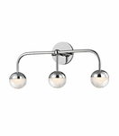 Mizner 3-Light Vanity Fixture | Polished Chrome