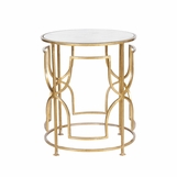 Mykonos Side Table | Gold