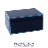 Nemo Large Glass Box | Blue