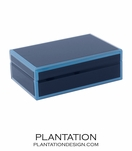 Nemo Small Glass Box | Blue