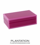 Nemo Small Glass Box | Pink