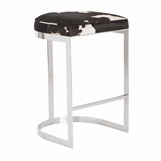 Nichols Bar Stool | Cowhide