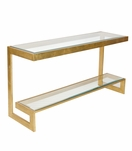 Noah Console Table | Gold