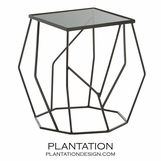 Odessa Side Table | Dark Bronze