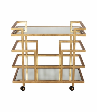 Olsen Bar Cart | Gold