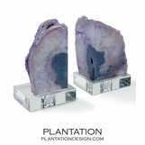 Ouray Agate Bookends