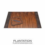 "Lina ""Shagreen"" Desk Set 