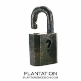 Padlock Bronze Sculpture
