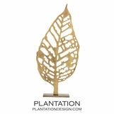 Palma Sculpture | Brass