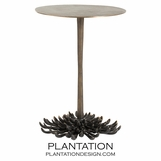 Palmetto Brass Side Table