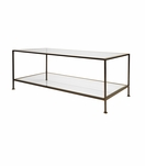 Petrov Rectangular Coffee Table | Bronze