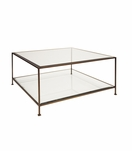 Petrov Square Coffee Table | Bronze