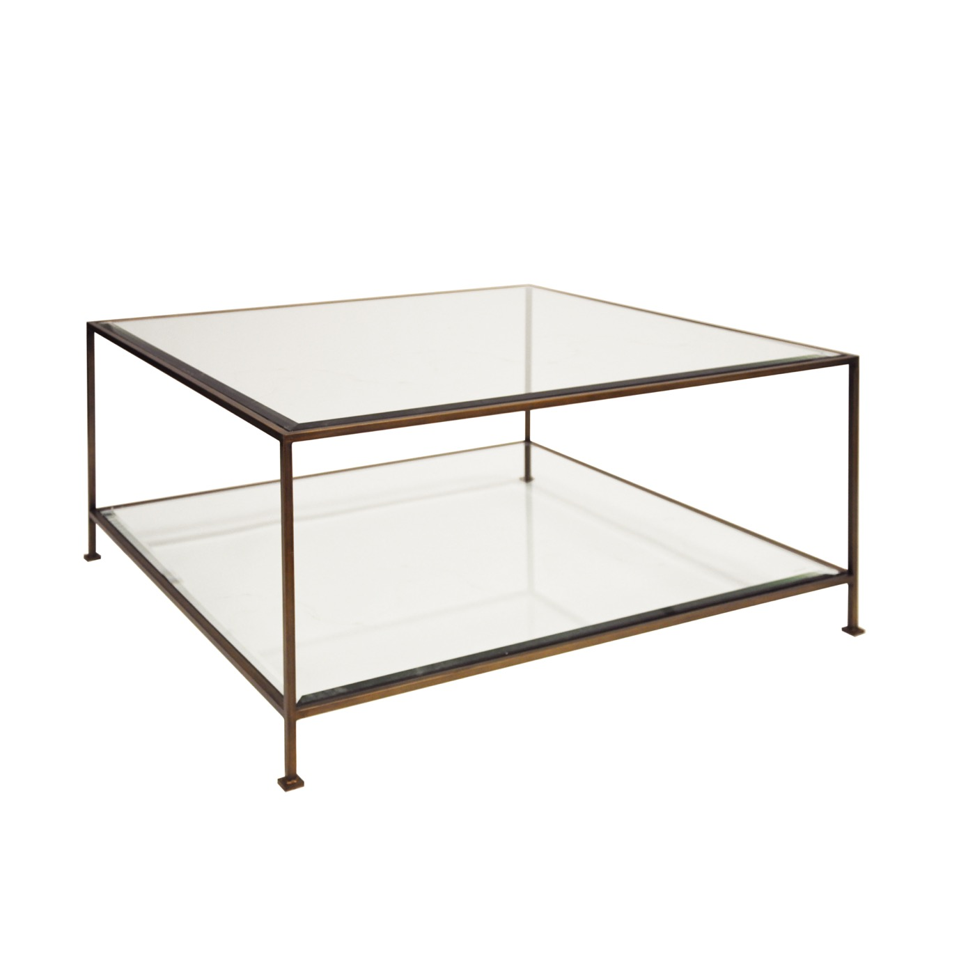 Petrov Square Coffee Table Bronze