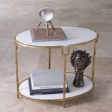 Pichola Oval Side Table