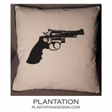 Pistol Pillow | Canvas