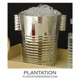 Pizzazz Nickel Ice Bucket