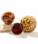 Plasma Glass Paperweights | Brown