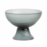 Plinius Grey Glass Bowl