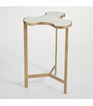 Puzzle Side Table | Gold