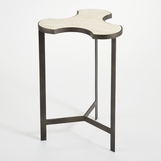 Puzzle Side Table | Iron