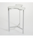 Puzzle Side Table | Silver
