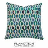 Rabat Pillow | Peacock