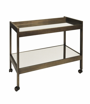 Raymond Bar Cart | Bronze