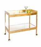 Raymond Bar Cart | Gold