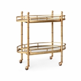 Richmond Gold Leaf Bar Cart