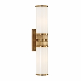 Ridgeline 2-Light Sconce | Antique Brass