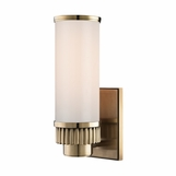 Ridgeline Single Sconce | Antique Brass