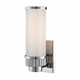 Ridgeline Single Sconce | Polished Nickel