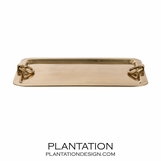 Rydel Large Brass Tray