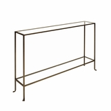 Skinny Large Console Table | Bronze